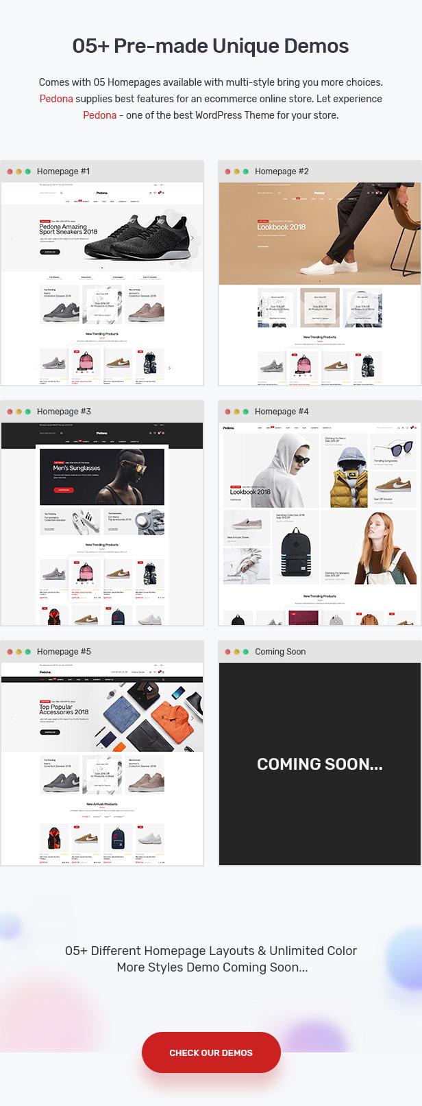 Pedona - Fashion & Sport Theme for WooCommerce WordPress 22