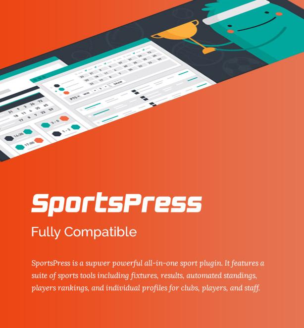 Big Slam Sport Clubs - Basketball WordPress - 3