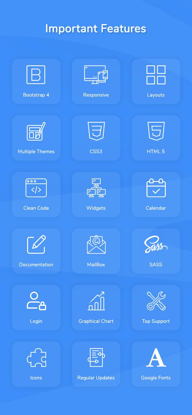 Apaxy - Admin & Dashboard Template - 4