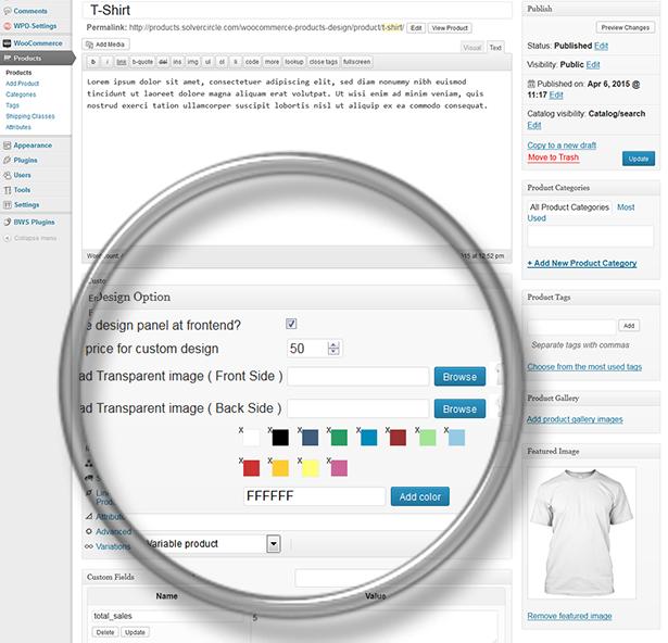 WooCommerce yönelik duyarlı Ürün Tasarımcısı - 28
