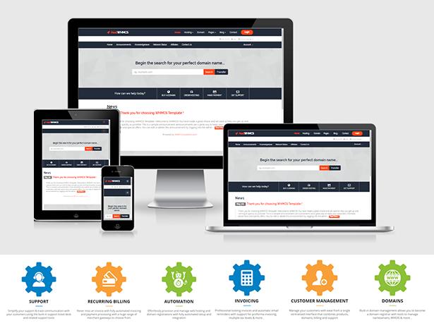 HostWHMCS - Responsive Hosting and WHMCS WordPress Theme