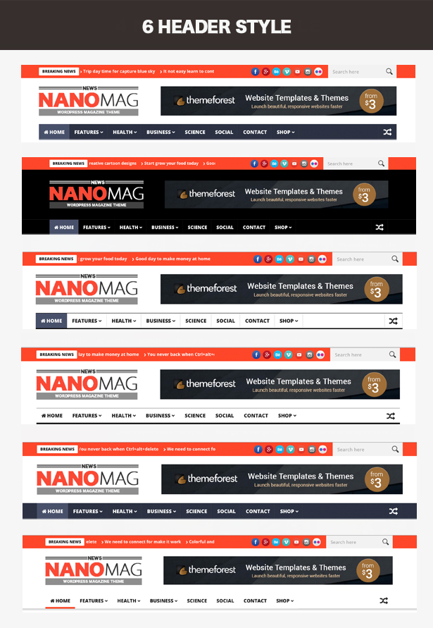 NanoMag - Responsive WordPress Magazine Theme - 3