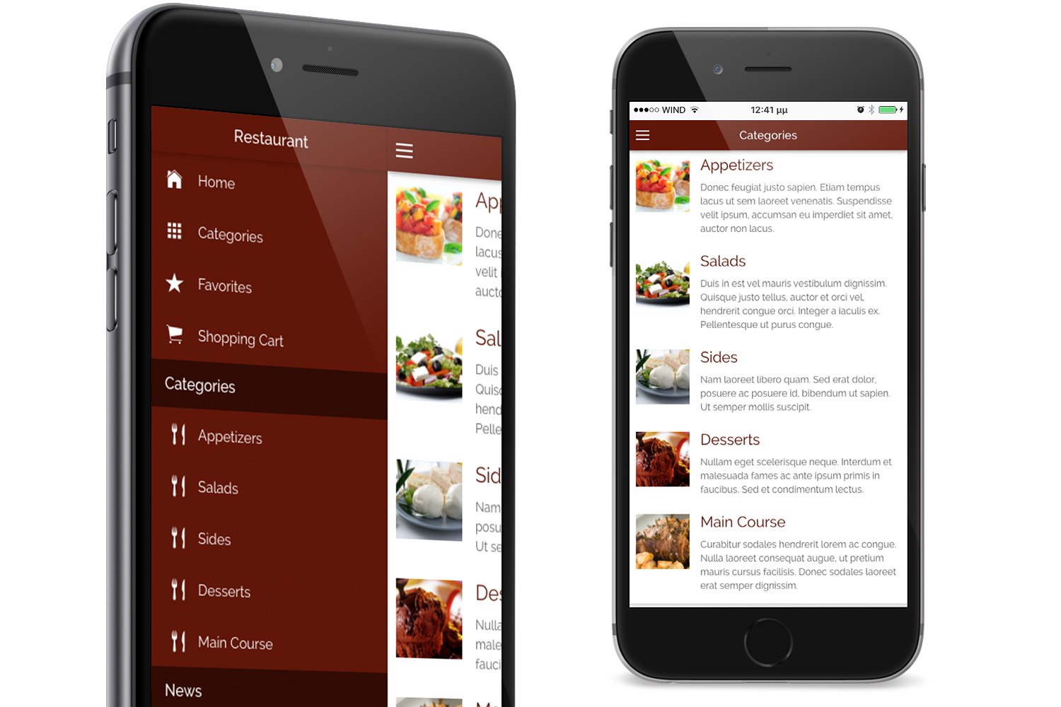 Restaurant Ionic Classy- Full Application with Firebase backend - 6
