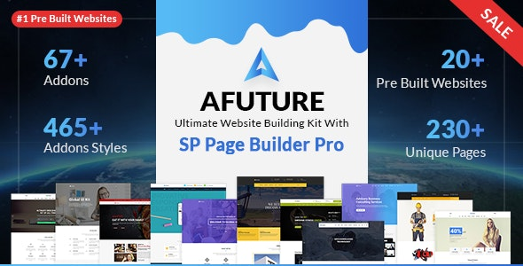 A Future - Creative Multipurpose Joomla Template - Corporate Joomla