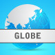 Digital World Map Background And World Globe  - GraphicRiver Item for Sale