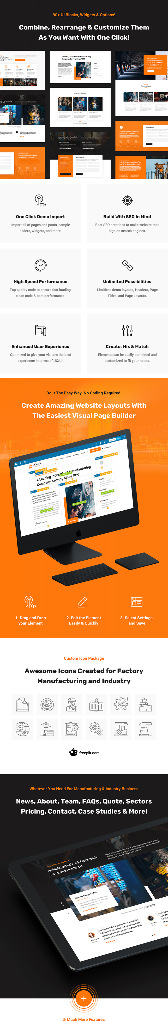 Industic - Industry and Manufacturing WordPress Theme - 4