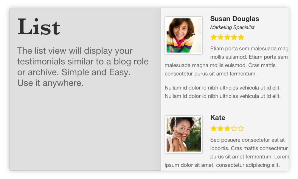 BNE Testimonials Pro - WordPress Testimonials and Reviews - 1
