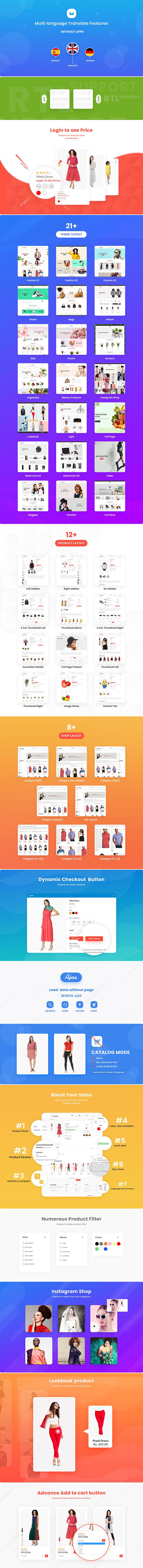 Multikart Store Shopify Theme
