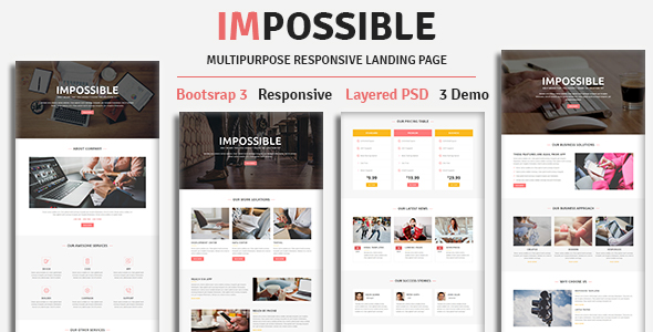 iConstruct - Multipurpose Responsive Landing Pages - 2