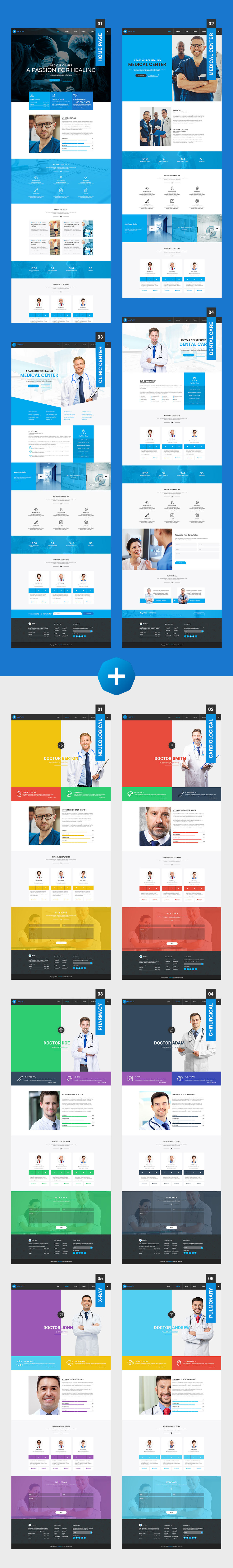 MedPlus – Medical & Health WordPress Theme - 3