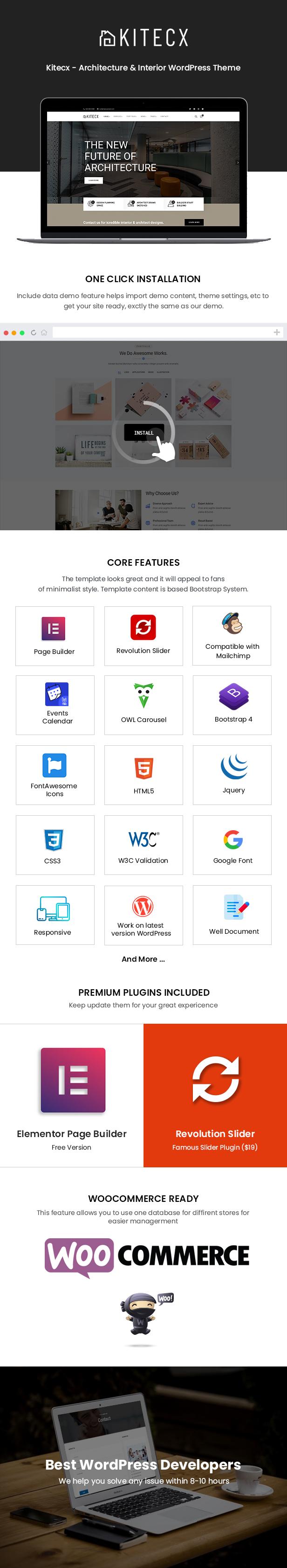 Kitecx WordPress Theme