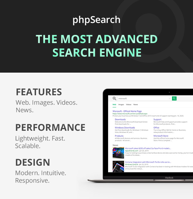 phpSearch - Search Engine Platform - 3