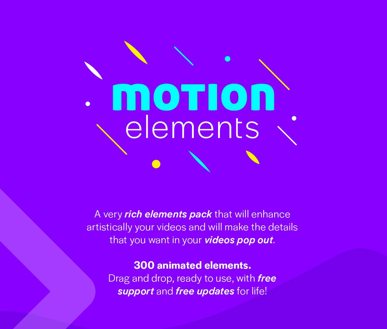 Motion Elements - 1