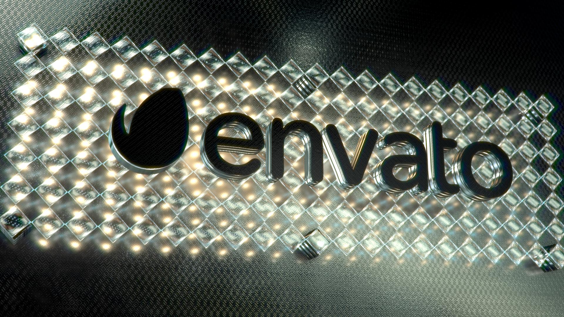 Gold & Black Crystallized Glass Logo Reveal - 1
