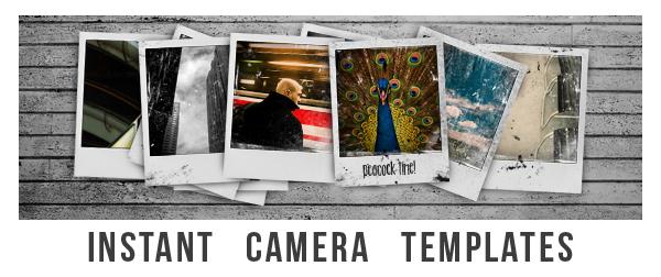 Polaroid Templates By Spar6 | Graphicriver