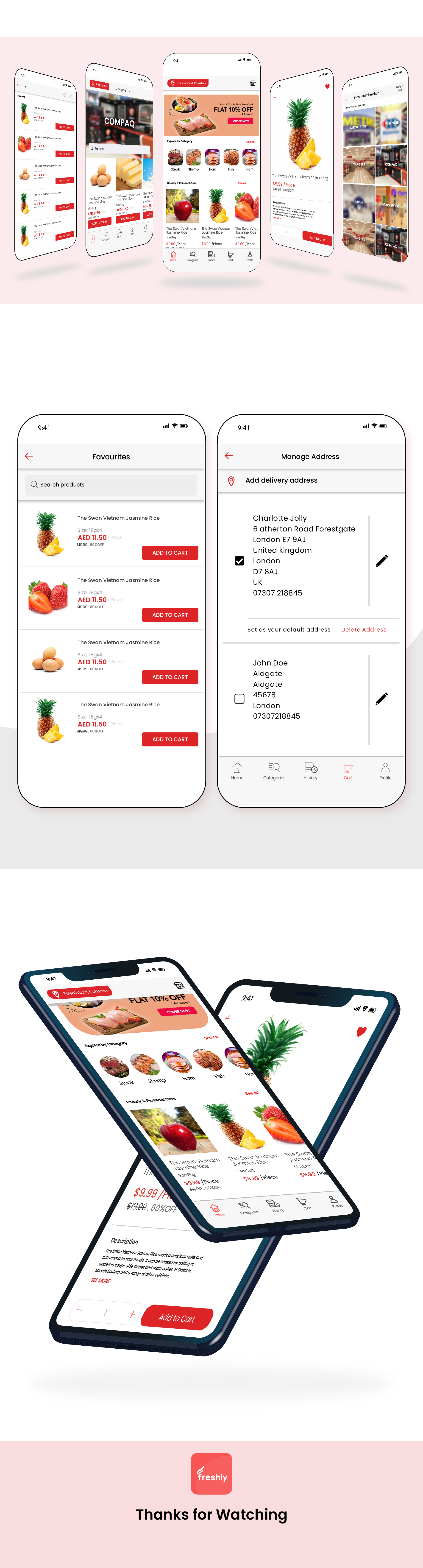 Native Multi Vendor Grocery, Food, Pharmacy, Store Delivery Mobile App with Admin Panel - 4