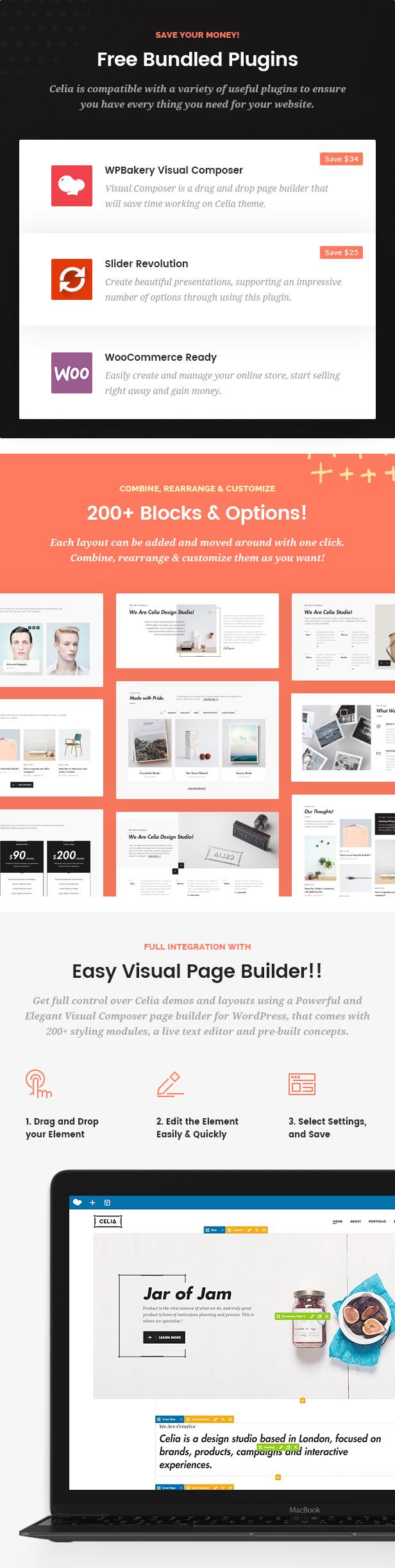 Celia - Innovative and Inspiring Portfolio WordPress Theme for Modern Agencies and Freelancers - 5