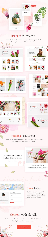 Fiorello - Florist and Flower Shop Theme - 1