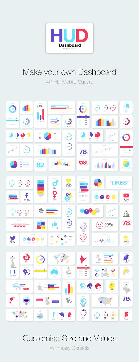HUD Dashboard Infographics - 7