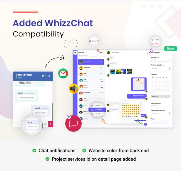 exertio theme with whizzchat option