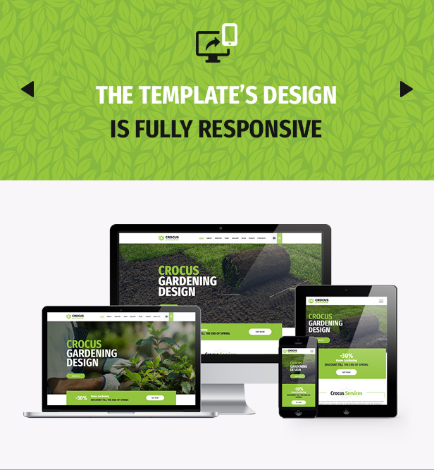 Garden and Landscape Design Company Crocus Gardening HTML