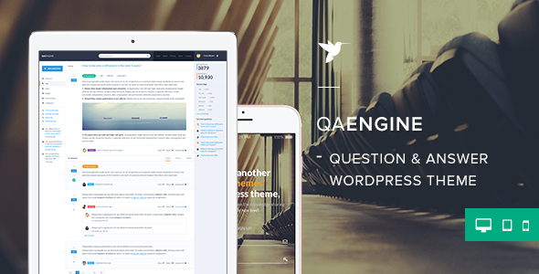QAEngine WordPress Theme