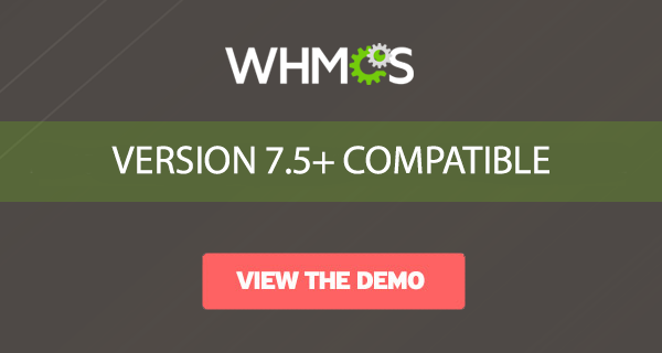 web hosting with custom WHMCS responsive template