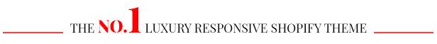Luxury Shop - Responsive Shopify Theme
