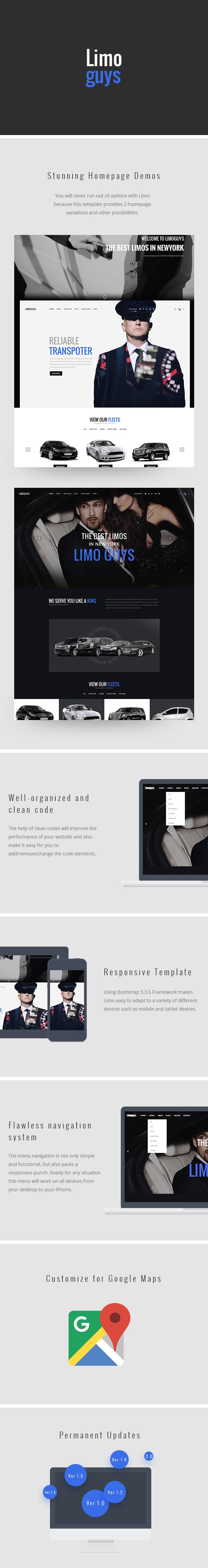 limoguys html template