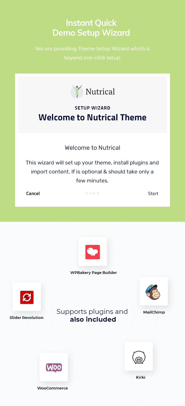 Nutrical WordPress Theme