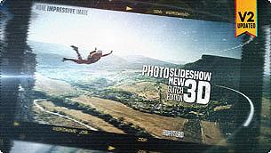 Photo Slide Show 3D New Glitch Edition
