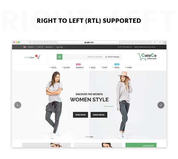 VG Calaco - Clothing and Fashion WordPress Theme - 25