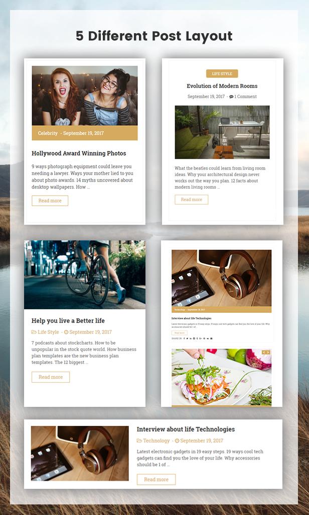 Qualta - Responsive WordPress Blog Theme - 3