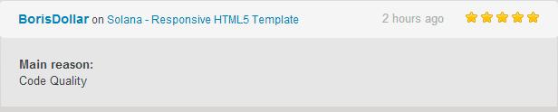 Solana - Responsive HTML5 Template - 12