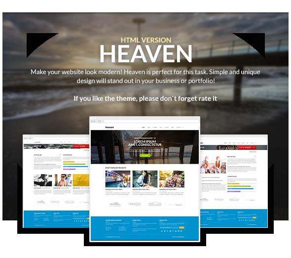 Heaven - Multi Purpose Site Template - 9