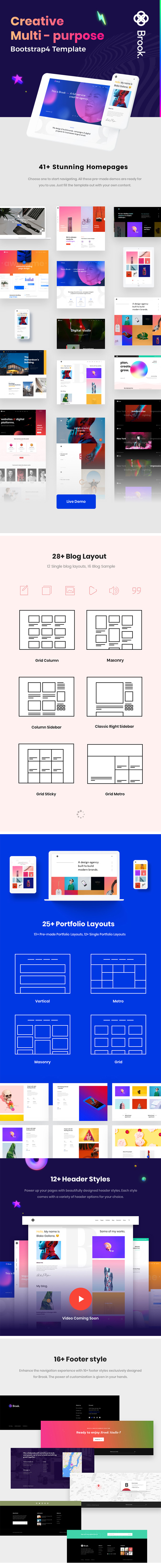 Brook - Creative Agency & Business HTML Template - 2