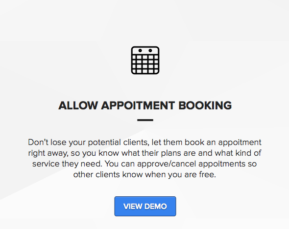 Booking appointment theme for wordpress