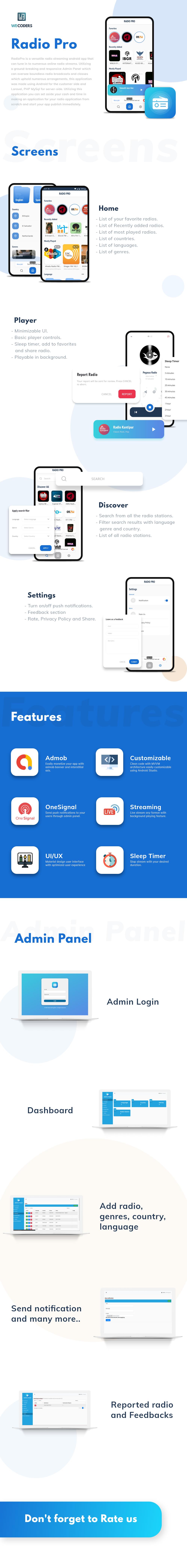 Radio Pro App