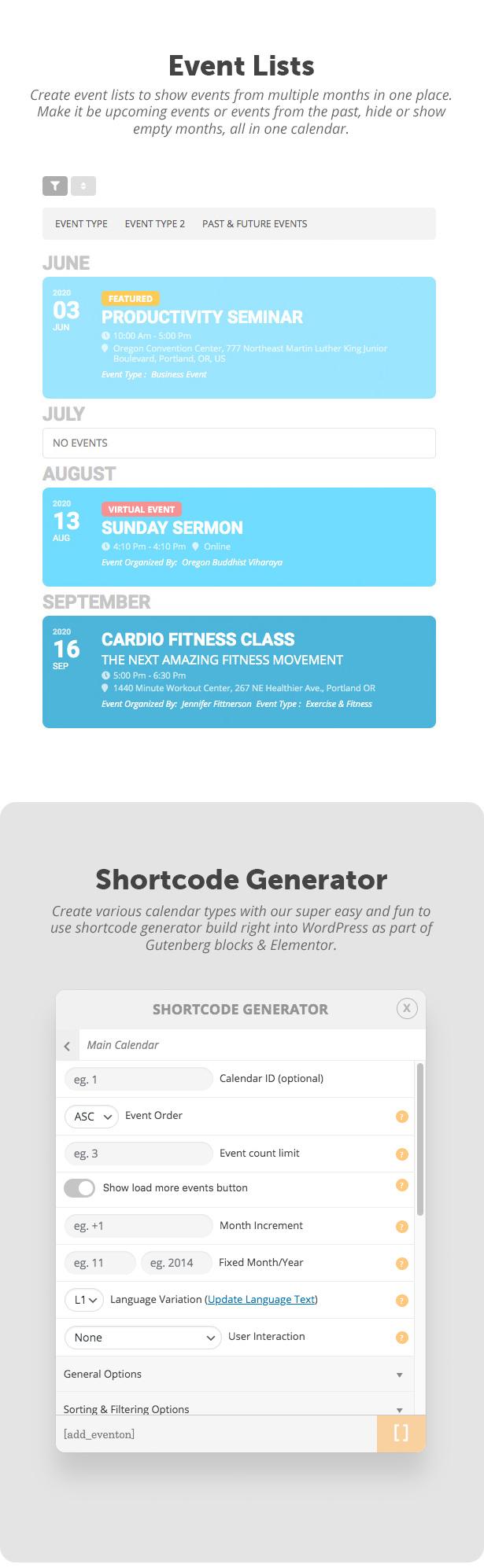EventON - WordPress Event Calendar Plugin - 9