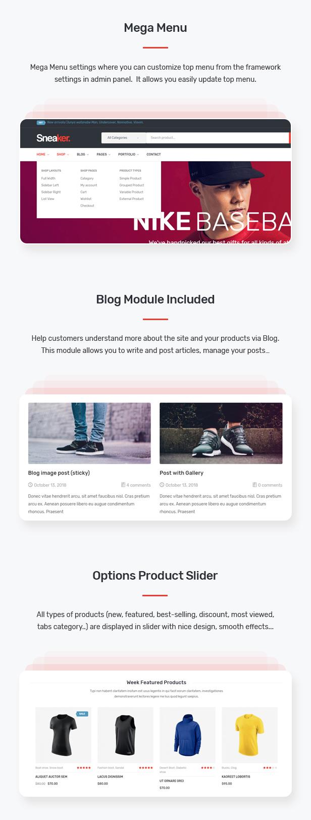 Sneaker - Shoes Theme for WooCommerce WordPress 25