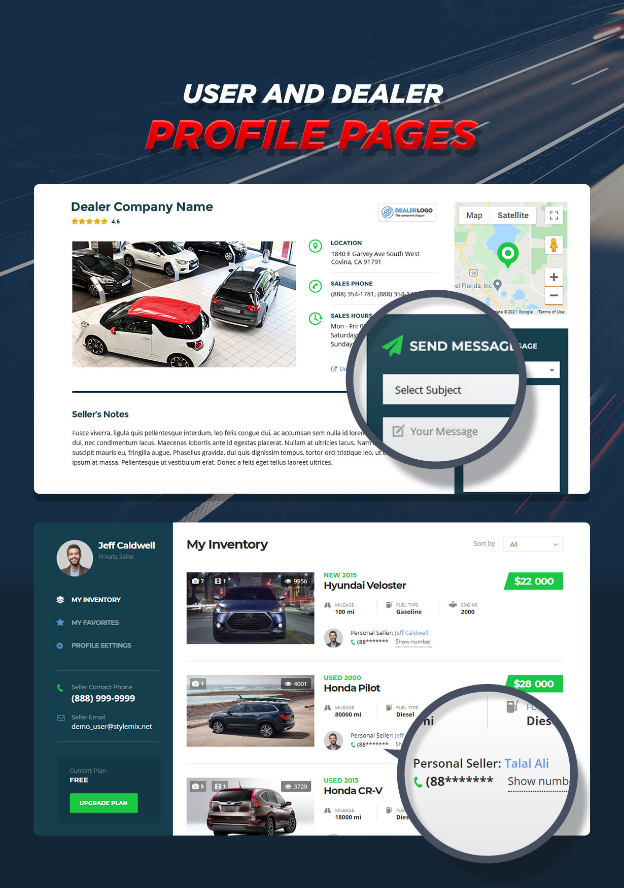Motors - Car Dealer, Rental & Listing WordPress theme - 18