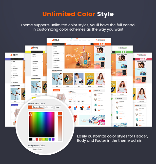 Revo - Multi-purpose WooCommerce WordPress Theme (12+ Homepages & 5 ...