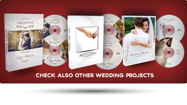 Wedding DVD / Blu Ray Cover 2 - 1