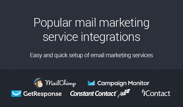 email marketing service integration