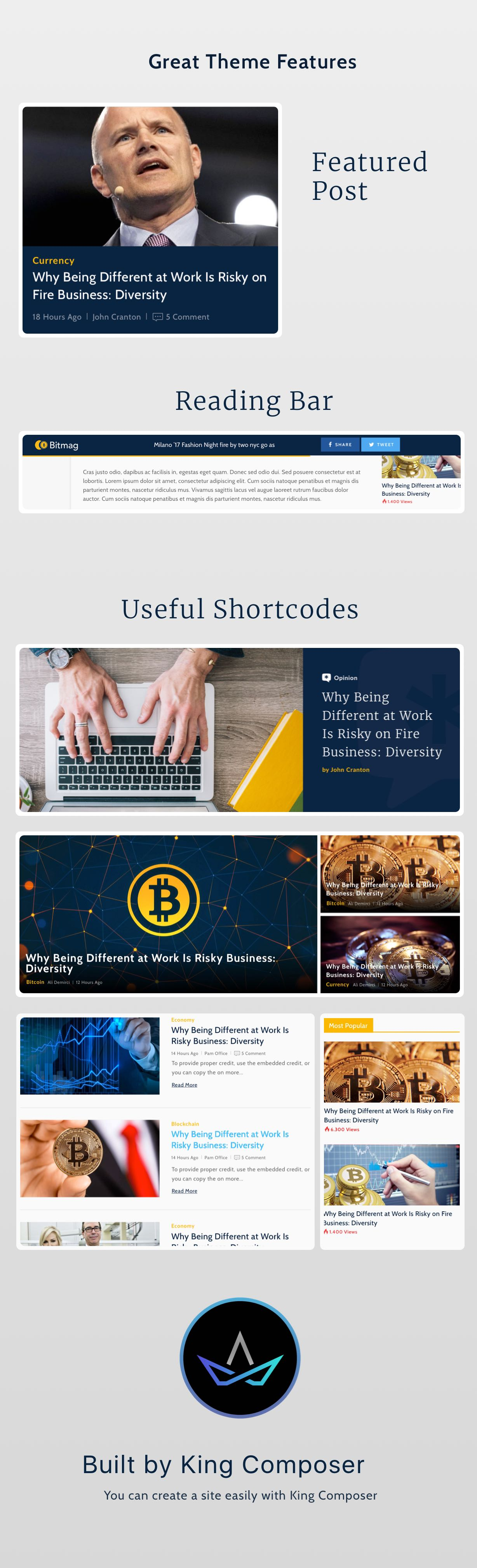 Coinmag Cryptocurrency Blog Wordpress Theme Download