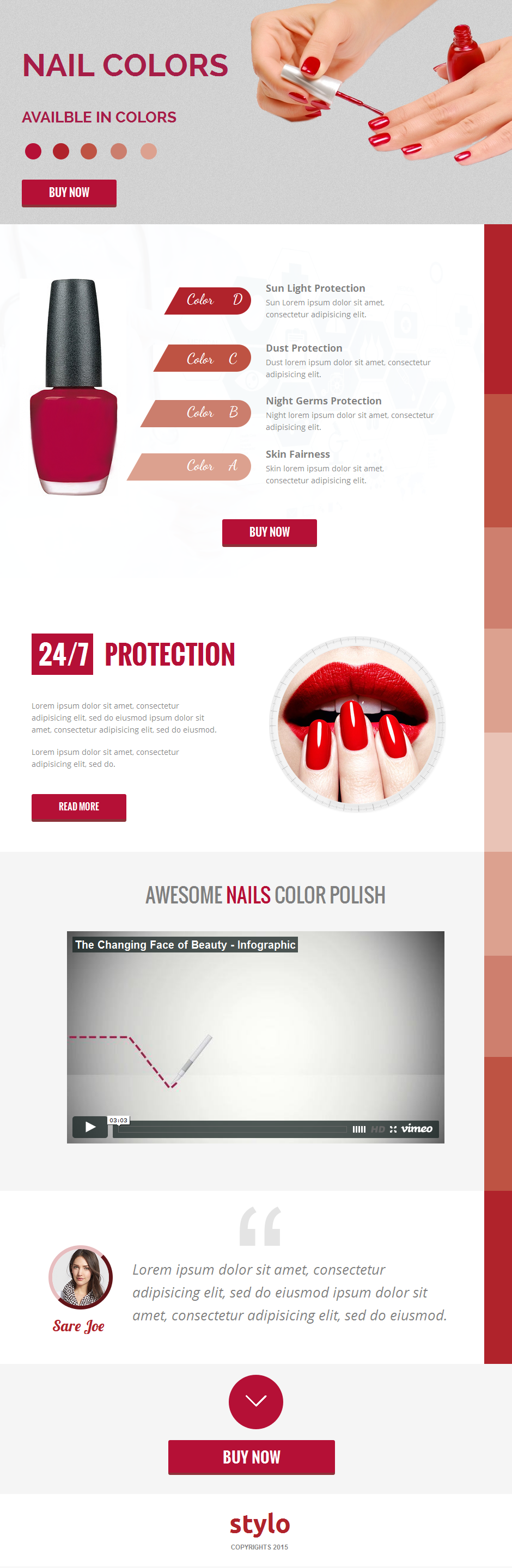 Stylo Unbounce Template - 1