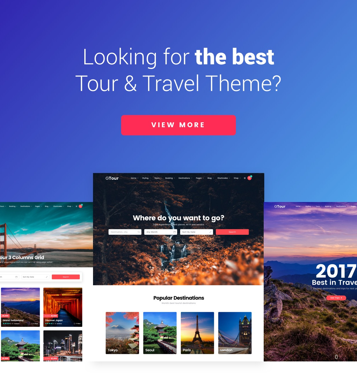 Travel Tour - Altair WordPress for Travel