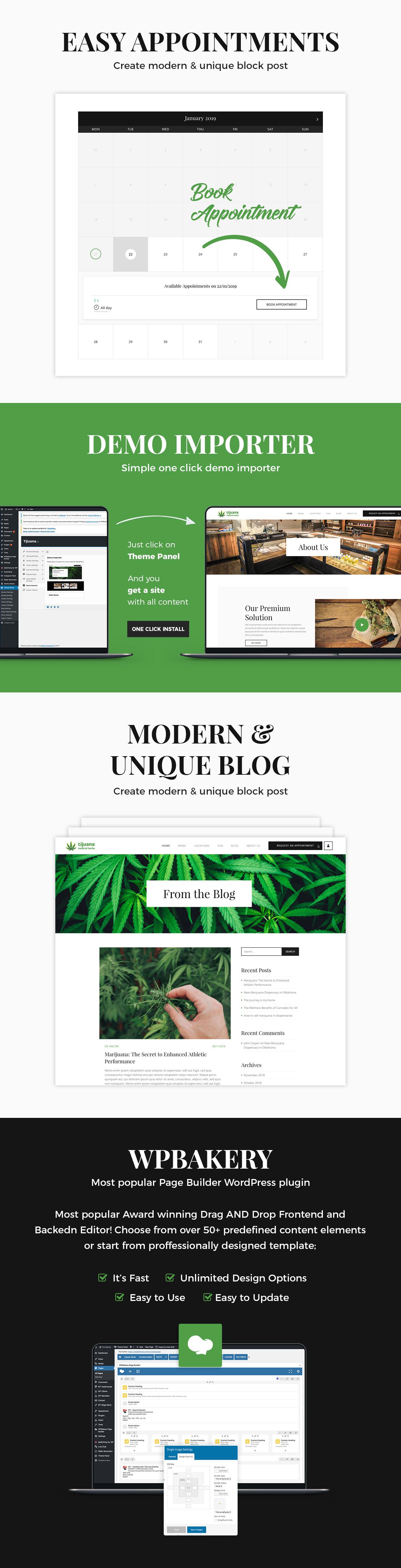 Tijuana - Marijuana Dispensary & Medical WordPress Theme - 4