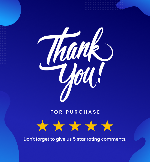 Thank You for Purchase - Item Lists Pro for Elementor