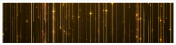 Gold Bokeh Light Background - 3